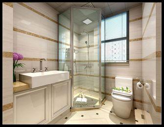 130平米三室两厅美式风格卫生间图
