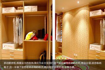 富裕型140平米四室两厅田园风格衣帽间欣赏图