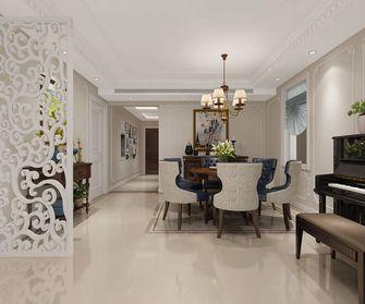 140平米三室两厅美式风格餐厅欣赏图