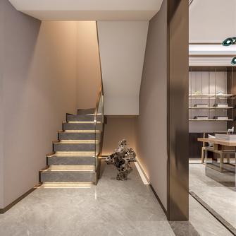 140平米别墅中式风格楼梯间欣赏图