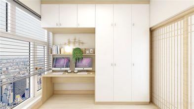 90平米三室两厅日式风格书房欣赏图