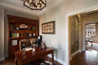 120平米复式美式风格书房设计图