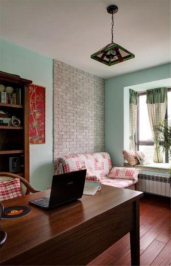 80平米三室两厅地中海风格书房效果图
