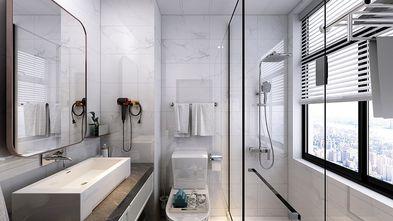140平米复式英伦风格卫生间装修案例