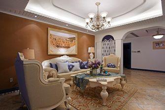 130平米四室两厅地中海风格客厅装修效果图