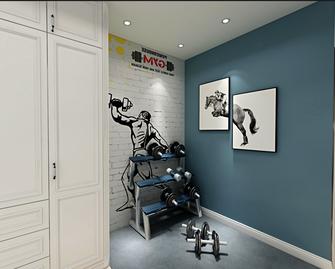 100平米美式风格健身室图片大全