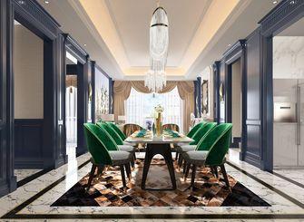 140平米三室两厅欧式风格餐厅欣赏图