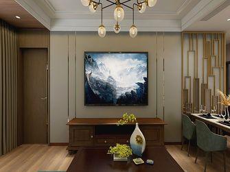 90平米三美式风格客厅效果图