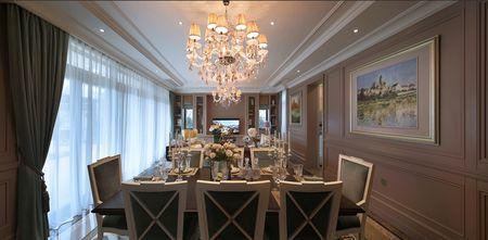 20万以上140平米四室三厅新古典风格餐厅图片大全