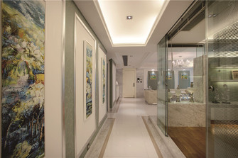 110平米法式风格走廊欣赏图