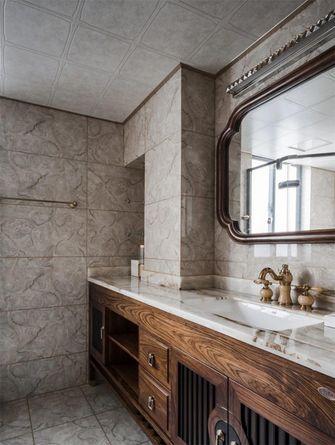 140平米四室两厅中式风格卫生间装修案例