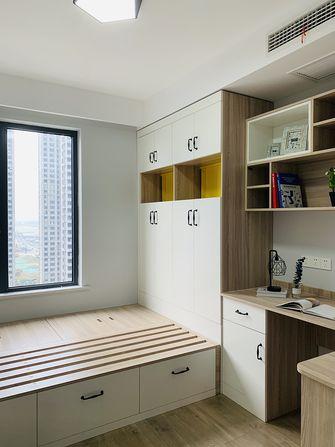 90平米三室两厅北欧风格书房图片大全
