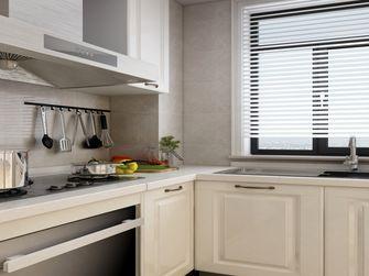 120平米三室一厅美式风格厨房图片大全