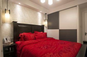 80平米三美式风格卧室装修图片大全