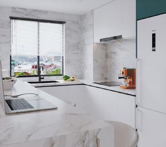 100平米三其他风格厨房设计图