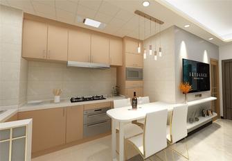 60平米现代简约风格厨房图