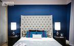 100平米三室两厅新古典风格卧室壁纸图片大全