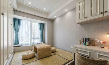 120平米三室一厅美式风格书房图片大全