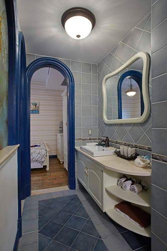 140平米四室两厅地中海风格卫生间图片