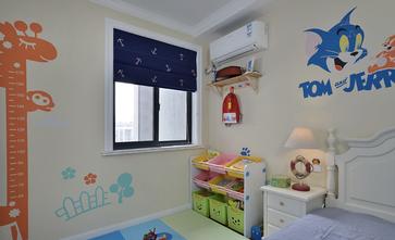 100平米三宜家风格儿童房设计图