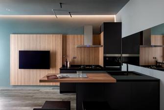 60平米现代简约风格客厅欣赏图