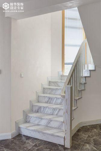 豪华型140平米别墅现代简约风格楼梯欣赏图