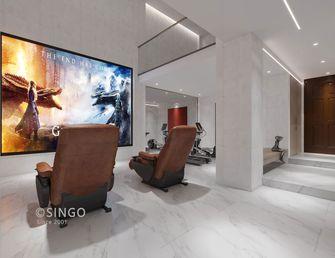 140平米三室两厅中式风格影音室设计图
