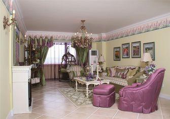 110平米四室两厅法式风格客厅欣赏图