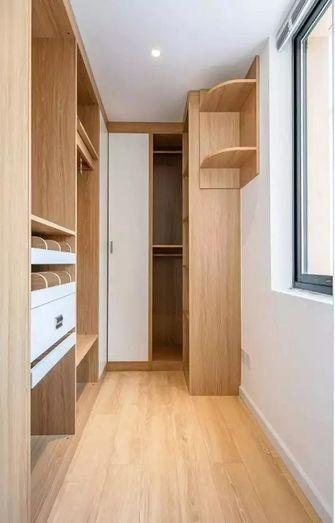 90平米三室两厅北欧风格衣帽间装修效果图
