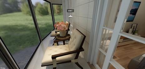 80平米一室两厅美式风格客厅装修效果图
