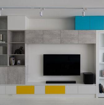 120平米现代简约风格客厅图片