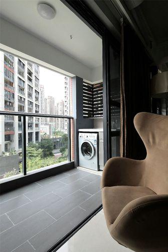 130平米三室两厅北欧风格阳台效果图