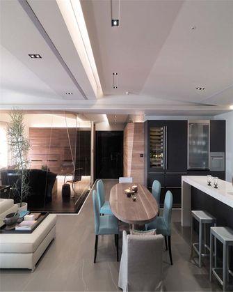 100平米公寓欧式风格餐厅图片