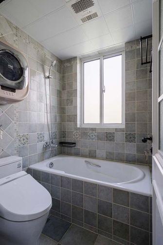 110平米三室五厅美式风格卫生间欣赏图