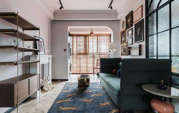 80平米三美式风格客厅装修案例
