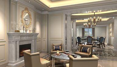 140平米三室一厅欧式风格客厅装修案例
