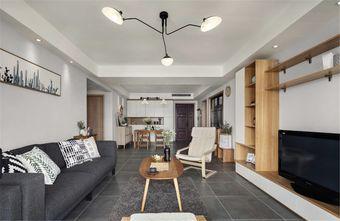 140平米四室两厅日式风格客厅装修案例
