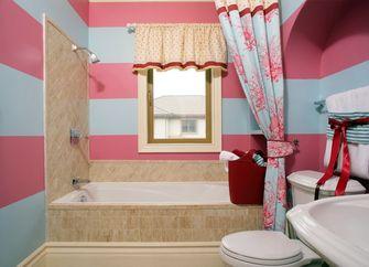 经济型140平米四室三厅英伦风格卫生间装修图片大全