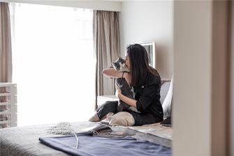 100平米三室三厅宜家风格卧室欣赏图