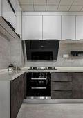 90平米三室两厅美式风格厨房欣赏图