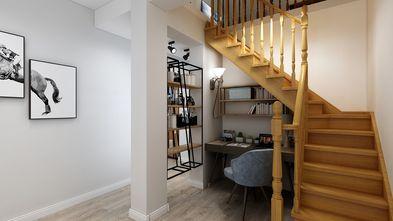 140平米复式北欧风格楼梯间图