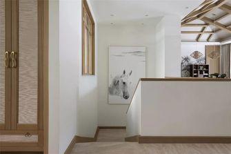 140平米别墅东南亚风格楼梯间图片