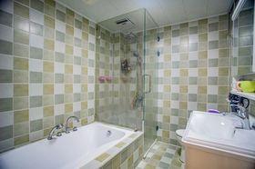 110平米三室兩廳美式風格衛生間圖片大全