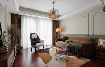 100平米三新古典风格客厅设计图
