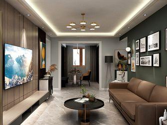 90平米混搭风格客厅装修图片大全
