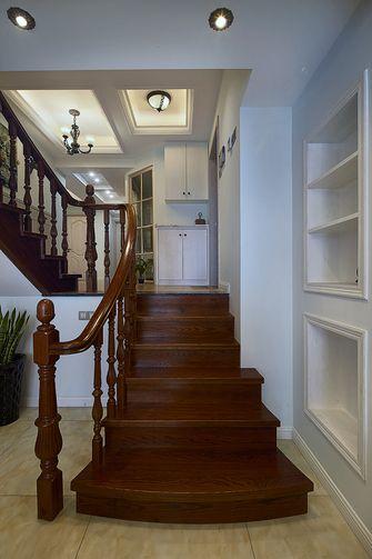 经济型90平米三室两厅混搭风格楼梯欣赏图