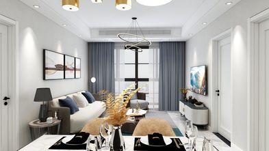120平米三室一厅其他风格客厅效果图