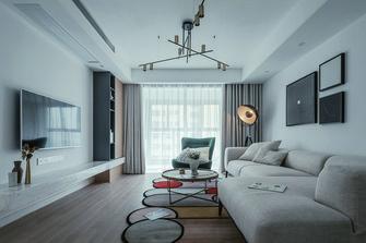 120平米三室五厅北欧风格客厅图片大全