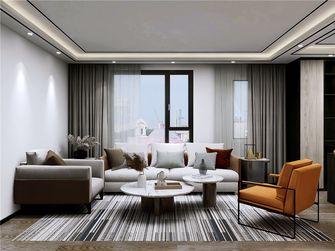 90平米复式现代简约风格客厅装修案例