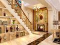豪华型140平米别墅新古典风格楼梯装修案例